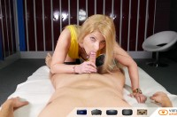VR Porn Bella Fucks You In The Locker Room with